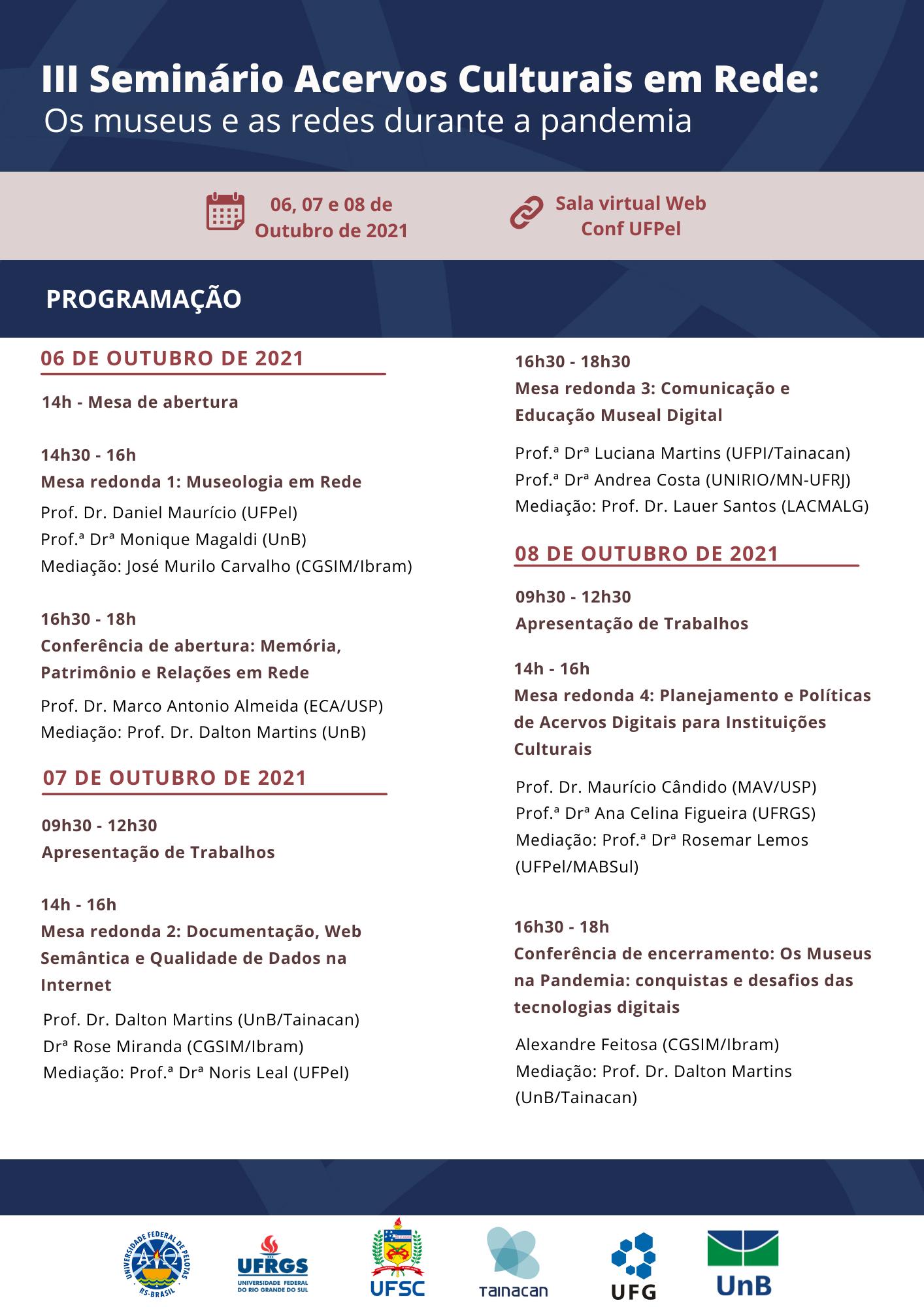 imagem: Abertas as inscrições para o 3º Seminário Acervos Culturais em Rede