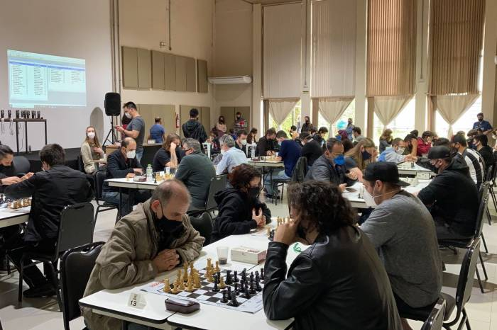imagem: Torneio de Xadrez reuniu 53 jogadores no Parque Tecnológico